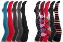 Vitasox Damen-Overknee 1 Paar in 10 Farbvarianten