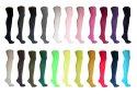 Socks Avenue, Damen Overknee Strümpfe, 17 versch. Farben