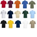Premium Polo von Fruit of the Loom S M L XL XXL XXL verschiedene Farben