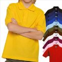 POLOSHIRT FRUIT OF THE LOOM KIDS 116 128 140 152 164