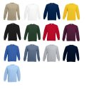 Set-In Sweat von Fruit of the Loom S M L XL XXL XXL XXXL verschiedene Farben