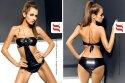 Obsessive - Blackpearl_Monokini - sexy Monokini Badeanzug Bikini schwarz micro,Grösse S/M