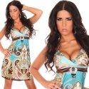 Minikleid Sommerkleid Orient Style Gr. 36